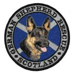 german shepherd badge